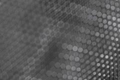 Glanzend van het metaalnetwerk donker close-up als achtergrond royalty-vrije stock foto's