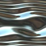 Glanzend Vloeibaar Chroom vector illustratie