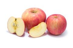 Glanzende appel Stock Afbeelding