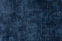 Glanzende blauwe fluweeltextuur voor uw elegante stijl royalty-vrije stock afbeelding