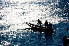 Glanzende boot stock afbeeldingen