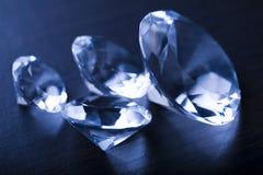 Glanzende diamant Royalty-vrije Stock Foto