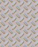 Glanzende Diamondplate Royalty-vrije Stock Fotografie