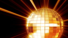 Glanzende disco mirrorball royalty-vrije illustratie