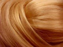 Glanzende donkere haarachtergrond Royalty-vrije Stock Fotografie