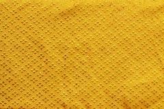 Glanzende gele blad gouden folie Stock Foto's