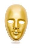 Glanzende geïsoleerdee maskers Royalty-vrije Stock Afbeeldingen