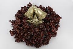 Glanzende glaubes van de Kerstmisdecoratie Stock Fotografie