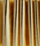 Glanzende Gouden Gordijnachtergrond Royalty-vrije Stock Foto