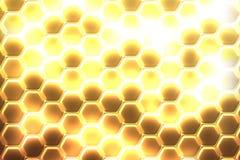 Hexagon achtergrond royalty-vrije stock foto's