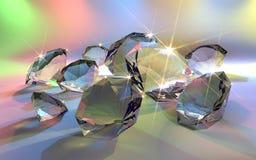 Glanzende Juwelen Stock Afbeeldingen
