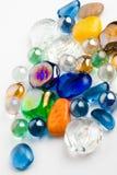 Glanzende kristallen royalty-vrije stock afbeeldingen
