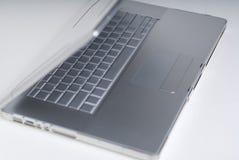 Glanzende laptop - de Reeks van de Technologie Stock Afbeelding