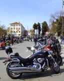 Glanzende motorfietsen Royalty-vrije Stock Foto