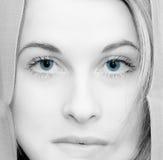 Glanzende ogen royalty-vrije stock foto's