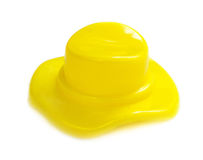 Glanzende plastic kroonkurk Royalty-vrije Stock Afbeelding