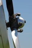 Glanzende propeller van een vliegtuig Stock Fotografie