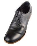 Glanzende schoen op wit Royalty-vrije Stock Afbeelding