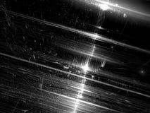 Glanzende technologie-achtergrond - abstract digitaal geproduceerd beeld Stock Foto