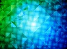 Glanzende vierkante vorm Royalty-vrije Stock Afbeeldingen