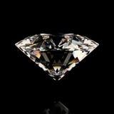 Glanzende witte diamant Stock Afbeeldingen