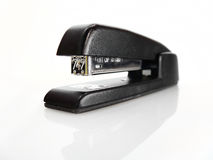 Glanzende Zwarte Nietmachine Royalty-vrije Stock Afbeeldingen