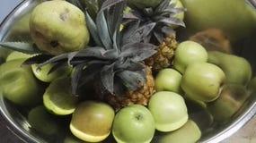 Glanzfruchtdekor Stockfotografie