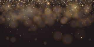Glanzhintergrund schwarzes Abstraktes elegantes glänzendes bokeh Konzept vektor abbildung