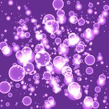 Glare Abstract Purple Background Vector. Illustration Royalty Free Stock Photos