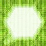 Glare green light background Stock Images
