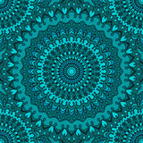 Glaring bright colored hand-drawing ornamental abstract seamless lace background with many details for design of silk neckerchief Royalty Free Stock Images