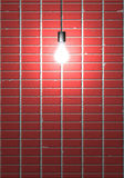 Glaring Bulb Stock Image