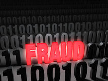 Glaring Computer Fraud Stock Images