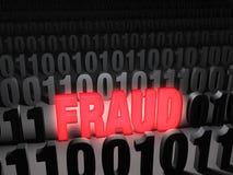 Glaring Computer Fraud Stock Images