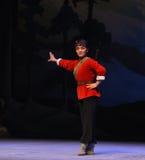 "Glaring eyes-Peking Opera ""Taking Tiger Montain By Strategy"" Royalty Free Stock Photography"