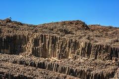 Glaronisia rocky islets, Milos island Royalty Free Stock Photo