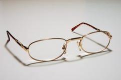 glasögon öppnar Royaltyfria Bilder