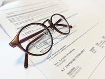 glasögon Arkivfoto