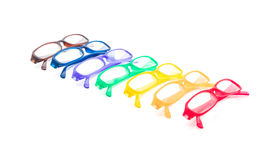 glasögon, anblickar eller exponeringsglas Arkivbild