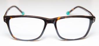 glasögon isolerade white arkivfoto