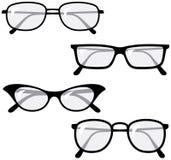 glasögonillustrationvektor Arkivbilder