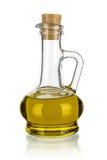 Glasölfläschchen lokalisiert Lizenzfreies Stockbild