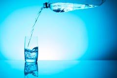 Glas świeża woda Obraz Stock