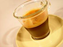 glas καφέ στοκ εικόνα με δικαίωμα ελεύθερης χρήσης