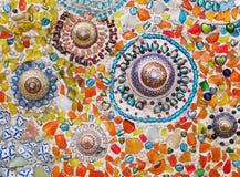 Glas и керамическая мозаика Стоковое Изображение RF