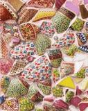 Glas и керамическая мозаика Стоковые Изображения