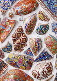 Glas и керамическая мозаика Стоковая Фотография