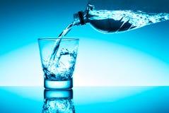 Glas свежей воды Стоковые Изображения RF