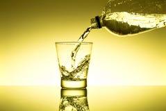 Glas свежей воды Стоковые Фотографии RF