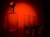 Glas 1 lizenzfreies stockfoto